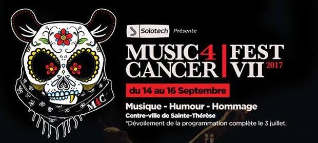 (Actu) Music 4 Cancer dévoile quelques groupes