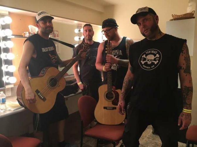 (Entrevue) Du punk de chalet à l'honneur, Route St-Louis