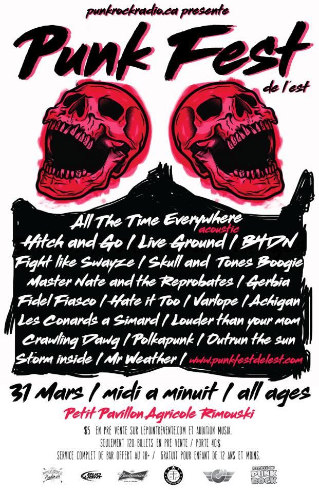 (Entrevue) Nicolas du Punk Fest de l'Est