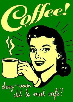 17 chansons intoxiquées du mot café