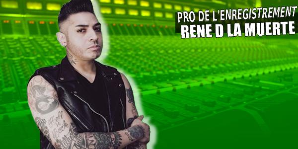 Série les pros de l'enregistrement : 19 x Rene D La Muerte