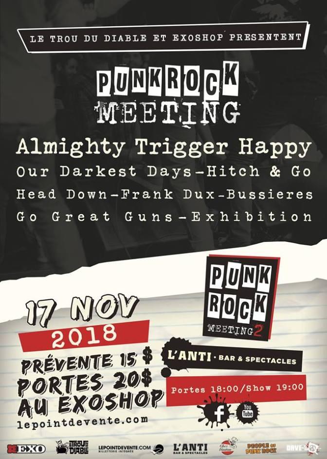 (Entrevue) Récidive du Punk Rock Meeting avec Vince Fournier!